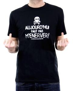 t-shirt énerver